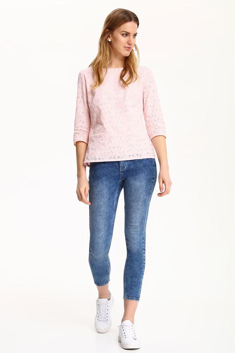 ДжинсыSSP2437NIСтильные женские джинсы Top Secret - джинсы высочайшего качества на каждый день, которые прекрасно сидят. Модель изготовлена из высококачественного комбинированного материала. Эти модные и в тоже время комфортные джинсы послужат отличным дополнением к вашему гардеробу. В них вы всегда будете чувствовать себя уютно и комфортно.