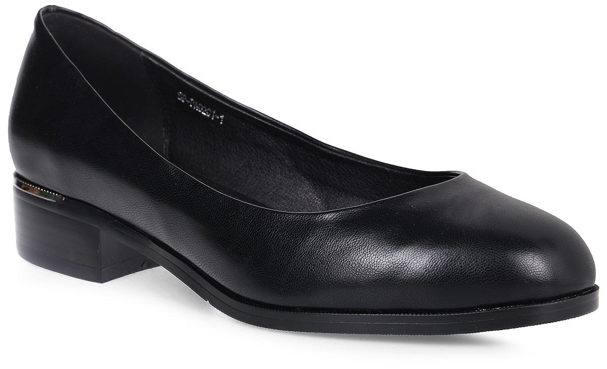 ТуфлиSP-PA0201-1 PU (SP-P00003-301)Стильные туфли на низком квадратном каблуке выполнены из искусственной кожи. Стелька выполнена из натуральной кожи.