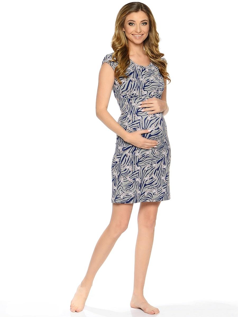 Ночная рубашка183120Комфортная и красивая ночная сорочка для беременных и кормления, выполнена из приятного трикотажного полотна. Мягкая ткань, женственный, силуэтный покрой, уникальный секрет кормления делают сорочку удобной и любимой, а цветовая гамма изделия позволяет носить сорочку как домашнее платье для кормления.