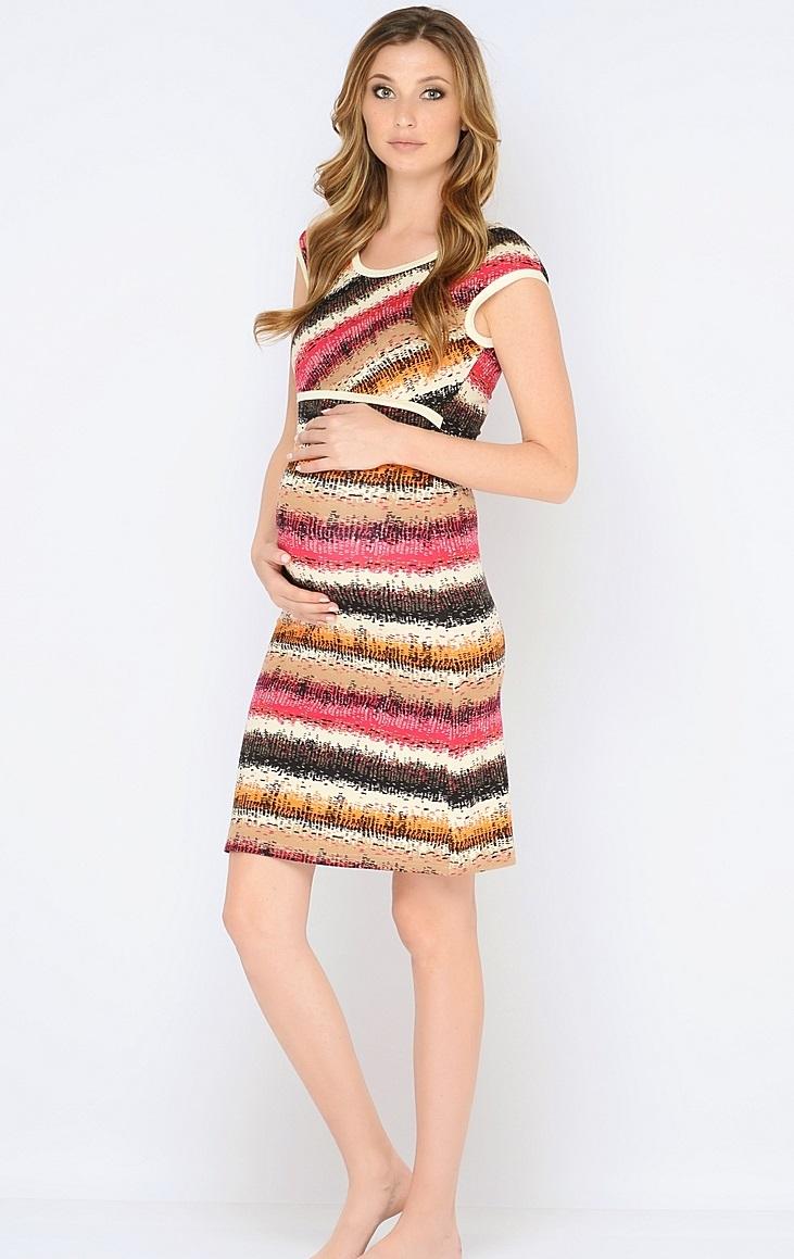 Ночная рубашка180120Красивая ночная сорочка для кормления выполненная из приятного трикотажного полотна. Мягкая ткань, женственный, силуэтный покрой, уникальный секрет кормления делают сорочку удобной и любимой, а цветовая гамма изделия позволяет носить сорочку как домашнее платье для кормления.