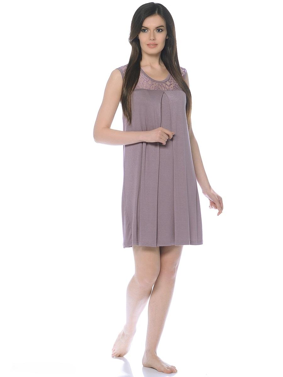 Ночная рубашка180131Женственная сорочка для беременных и кормления из струящегося, трикотажного полотна, без рукавов, свободного покроя. Сорочка украшена изумительной кокеткой из гипюра и дополнена широкой встречной складкой по переду для объема на растущий животик. Приятная ткань, прекрасный дизайн, модная цветовая гамма, удобный секрет кормления сделают сорочку любимой и приятной для вас.