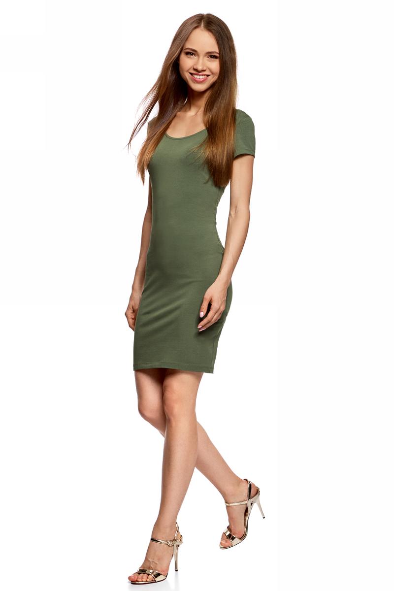Платье24001082-2B/47420/5700NПлатье облегающего силуэта с глубоким вырезом на спине