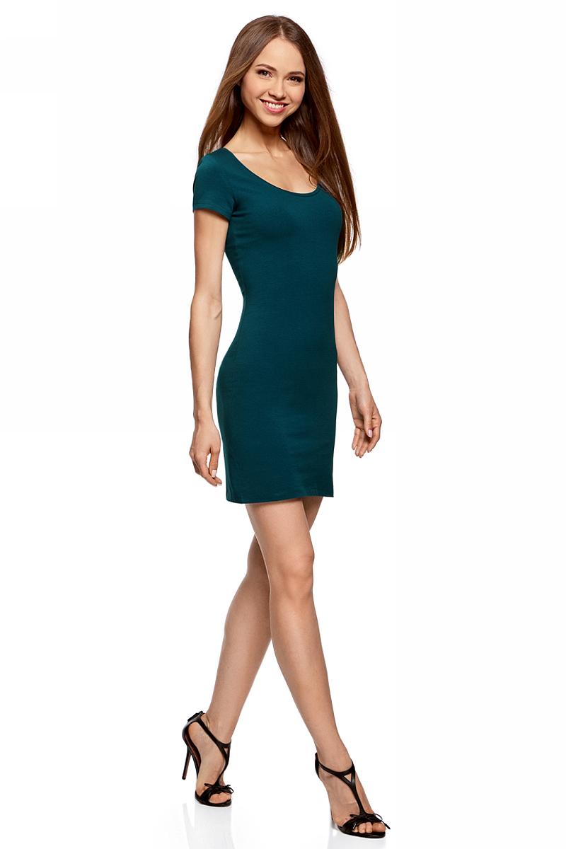 Платье14001182B/47420/2000MПлатье трикотажное облегающего силуэта