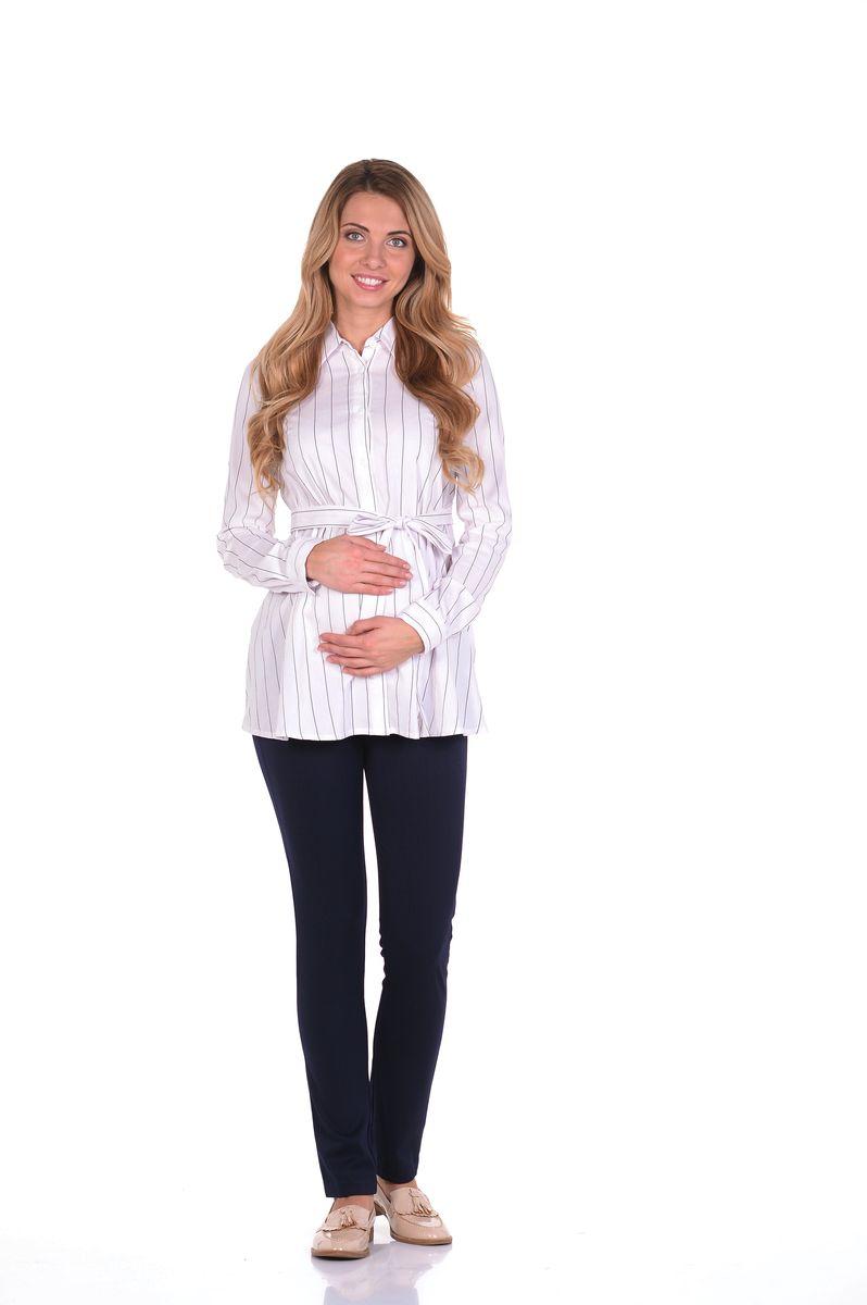 Блузка215203/4Классическая блузка для беременных. Модель трапециевидного покроя, с поясом, с длинным рукавом, и с отложным воротником, передняя планка полностью застёгивается на пуговицы. Специальный крой обеспечивает отличную посадку по фигуре, и создаёт простор для животика. Поясом можно подчеркнуть женственный силуэт. Универсальный фасон позволяет комбинировать такую блузку с любыми предметами гардероба и создавать безупречные образы на каждый день или для особых случаев в период беременности и после рождения малыша.