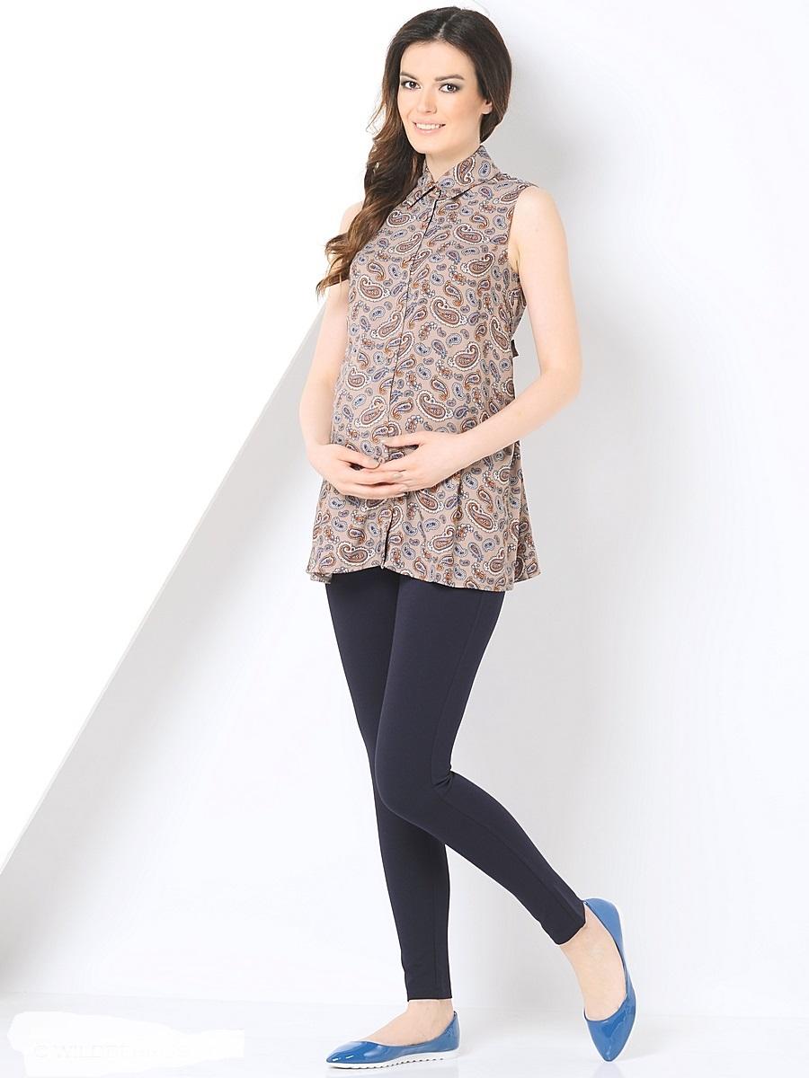 Блузка215201Легкая блузка для беременных, выполнена из нежной, воздушной ткани, свободного покроя, без рукавов, на пуговицах. Блузка-рубашка дополнена воротником стойка и отстегивающимися поясками. Модная, восхитительная блузка - рубашка в сочетании с любым низом позволит вам создавать уникальные наряды на каждый день, обеспечивая легкость и комфорт в процессе носки.