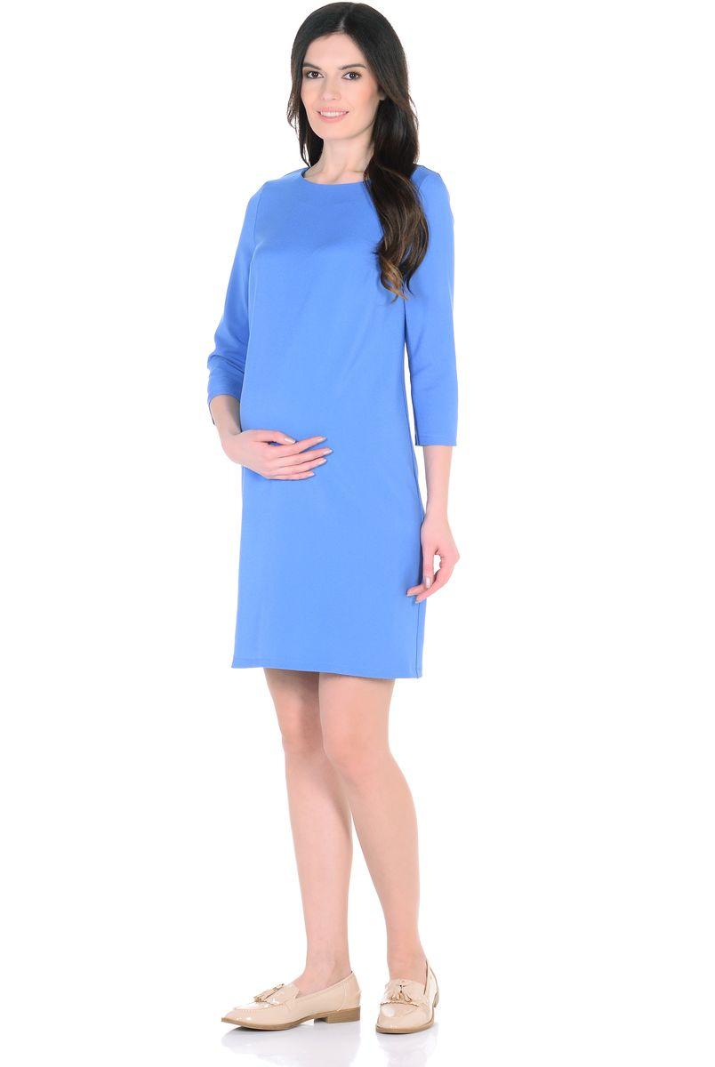 Платье302313Элегантное платье для беременных прямого силуэта с рукавом 3/4 и с вырезом горловины лодочка. Платье отлично садится по фигуре, благодаря продуманному крою и мягкости ткани. Шлица в среднем шве спинки обеспечивает свободные движения при ходьбе и подчёркивает элегантный лаконичный дизайн. Универсальный классический фасон позволяет носить такое платье на любом сроке беременности и после. Дополнив такое платье любимыми украшениями и аксессуарами, можно легко изменить образ, сделать его особенным и неповторимым.