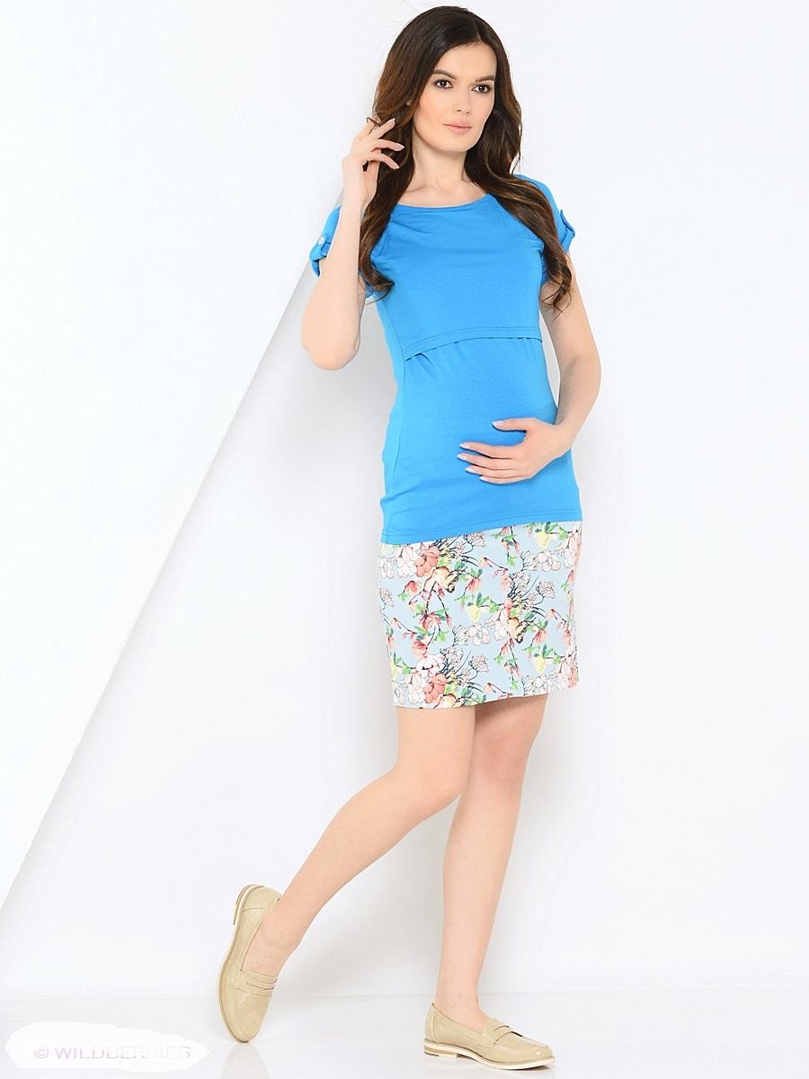 Блузка205101Модная футболка для беременных и кормления, из вискозного трикотажа, с коротким рукавом реглан, прямого силуэта. Футболка имеет удобный секрет для кормления, который скрыт под кокеткой. Планки на рукавах и по спинке с декором пуговицами, украшают, придают изюминку. Практичная, мягкая вискозная ткань с небольшим добавлением лайкры, хорошо растягивается и бережно облегает, ткань приятная к телу, почти не мнется, и всегда идеально сидит по фигуре. Универсальная и незаменимая вещь для беременных и кормящих женщин в повседневном гардеробе на любой сезон.