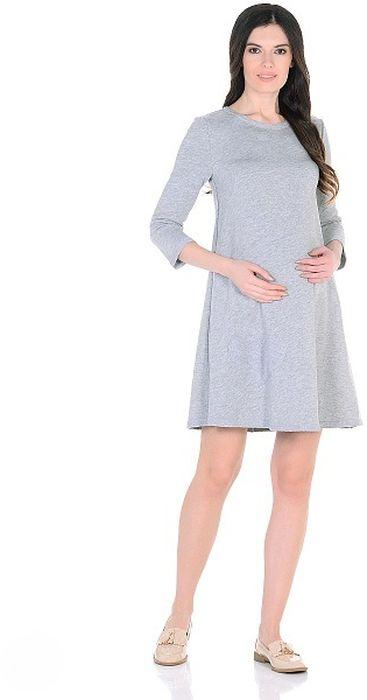 Платье300322Модное повседневное платье для беременных, трапециевидного силуэта, с округлым вырезом горловины, с рукавом 3/4. Платье изготовлено из мягкой и приятной к телу ткани футер в изысканном цвете. Особая обработка краев платья с эффектом незавершенности, придает лаконичному фасону оттенок гранжевого стиля, а оригинальная аппликация в форме сердца подчеркивает женственность образа. Платье отлично садится по фигуре, не сковывает движений. Универсальный фасон позволяет носить такое платье как в период беременности, так и после рождения малыша.