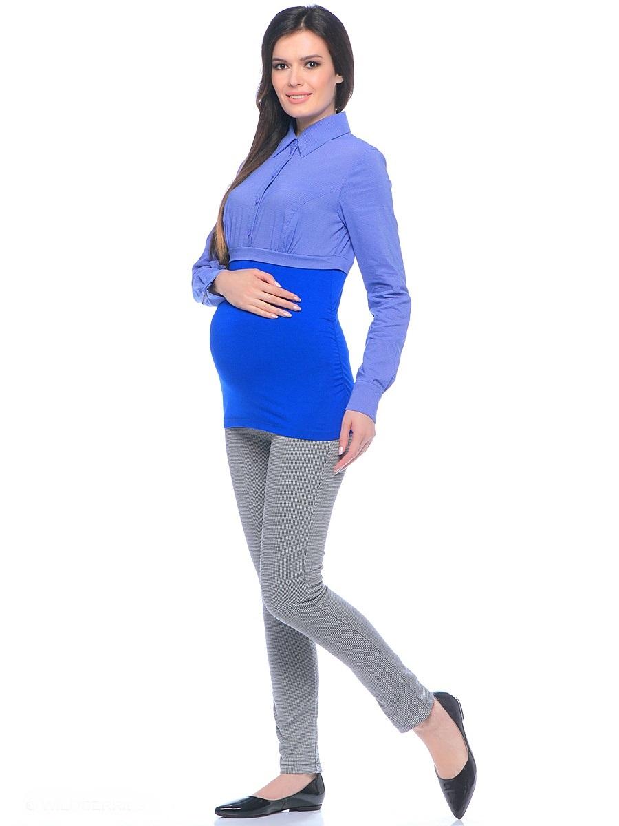 Брюки101199Стильные брюки для беременных зауженного кроя из мягкого брючного трикотажа. Модель с высокой посадкой, с двумя задними накладными карманами. Благодаря кокетке для животика с регулируемой резиночкой в поясе, и специальному крою, брюки обеспечивают отличную посадку по фигуре, их комфортно носить на протяжении всего срока беременности и после рождения малыша.