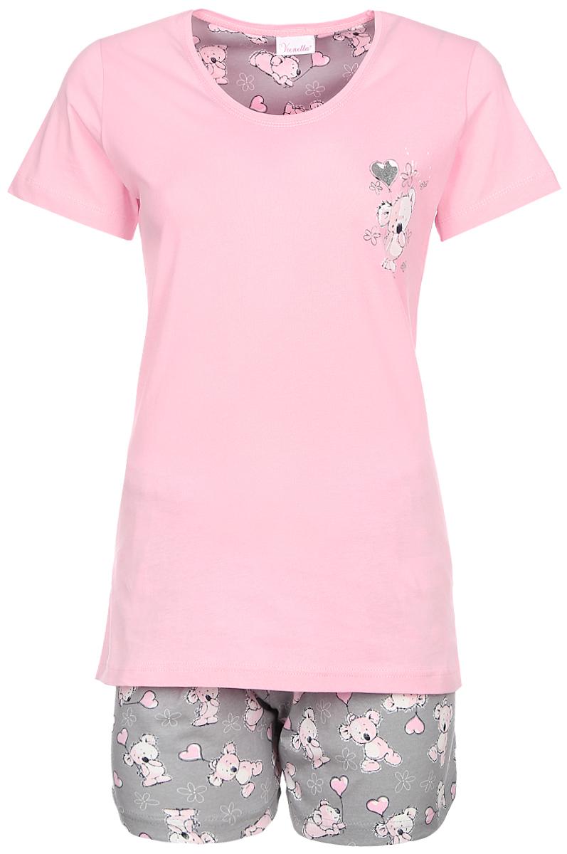 Домашний комплект608013 0330Комплект с шортами футболка