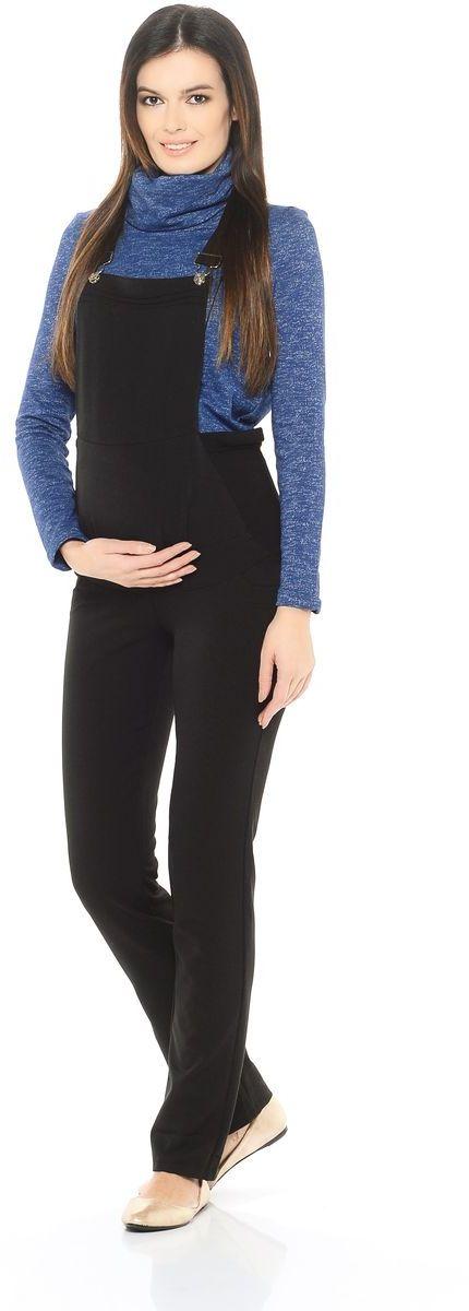 Комбинезон101202Комфортный комбинезон для беременных женщин, изготовлен из вискозного полотна с хлопком. Модель в классическом исполнении с брючками прямого кроя, с передними декоративными и задними накладными карманами. Современная модель с хорошей поддержкой для растущего животика, обхват регулируется с помощью трикотажных вставок по бокам и перфорированных резиночек. Бретели также можно изменять по длине. Комбинезон идеальный вариант одежды для будущей мамы, он хорошо садится по фигуре, мягко поддерживает животик, сохраняя свободу и лёгкость движений на любом сроке беременности.