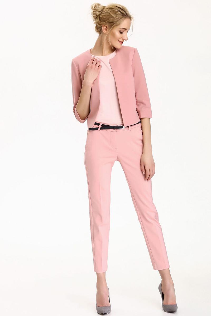 БрюкиSSP2499CRСтильные женские брюки Top Secret - брюки высочайшего качества на каждый день, которые прекрасно сидят. Модель изготовлена из высококачественного комбинированного материала. Эти модные и в тоже время комфортные брюки послужат отличным дополнением к вашему гардеробу. В них вы всегда будете чувствовать себя уютно и комфортно.