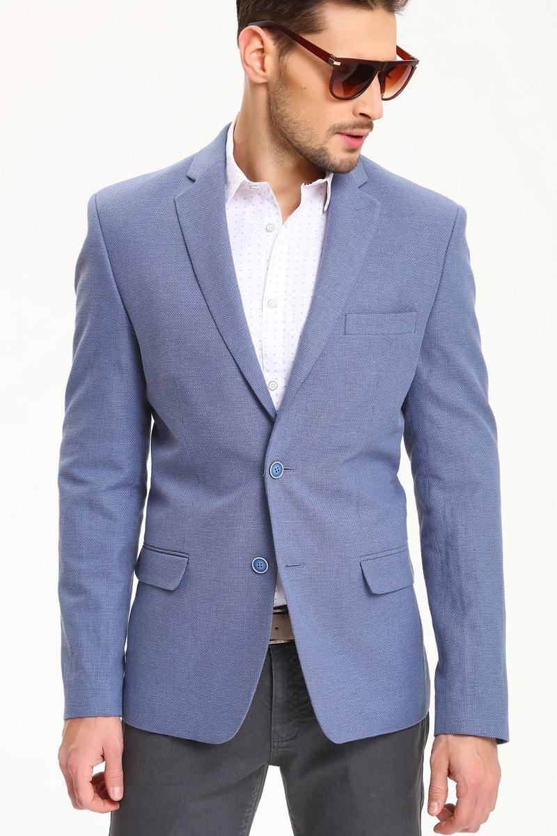 РубашкаSKL2284BIРубашка мужская Top Secret выполнена из 100% хлопка. Модель с отложным воротником и длинными рукавами застегивается на пуговицы.