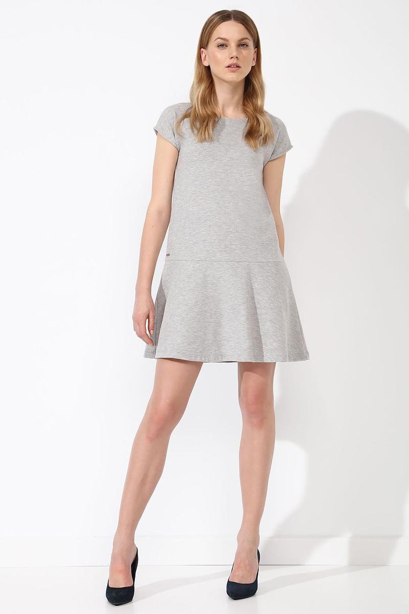 ПлатьеSTU0132SZПлатье Top Secret выполнено из хлопка и полиэстера. Модель с круглым вырезом горловины и короткими рукавами.