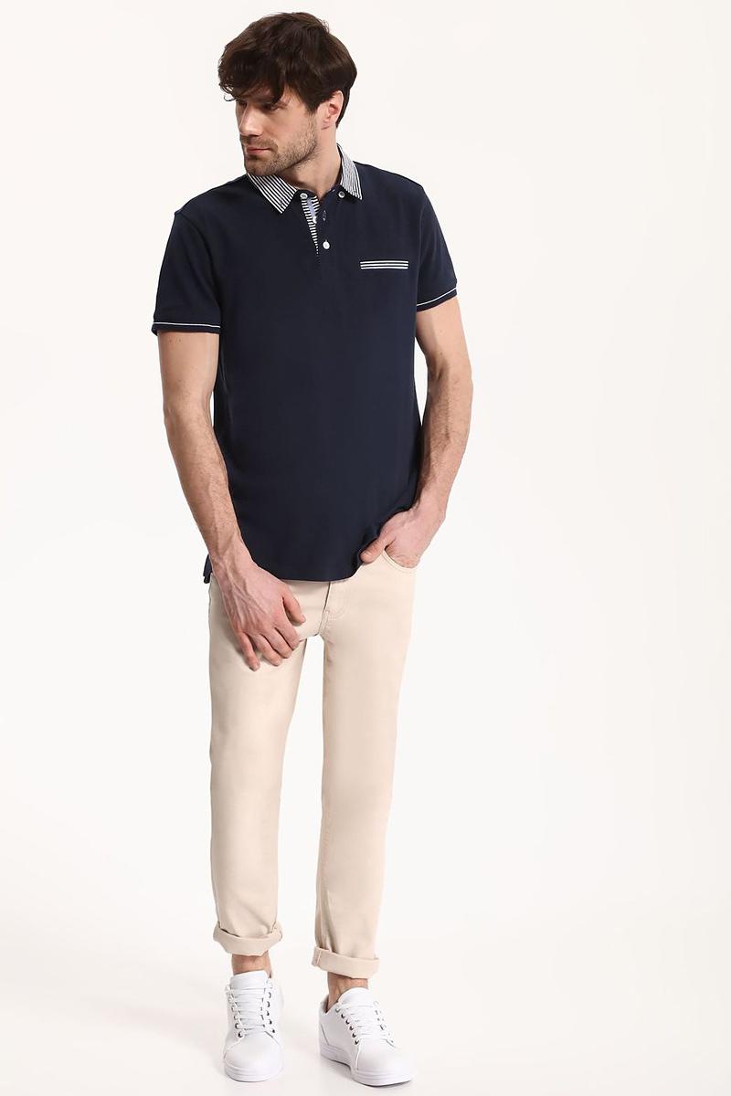 ПолоSKP0401GRМужская футболка-поло Top Secret поможет создать отличный современный образ в стиле Casual. Модель изготовлена из хлопка с добавлением полиэстера. Футболка-поло с отложным воротником и короткими рукавами застегивается сверху на три пуговицы. Такая футболка станет стильным дополнением к вашему гардеробу, она подарит вам комфорт в течение всего дня!