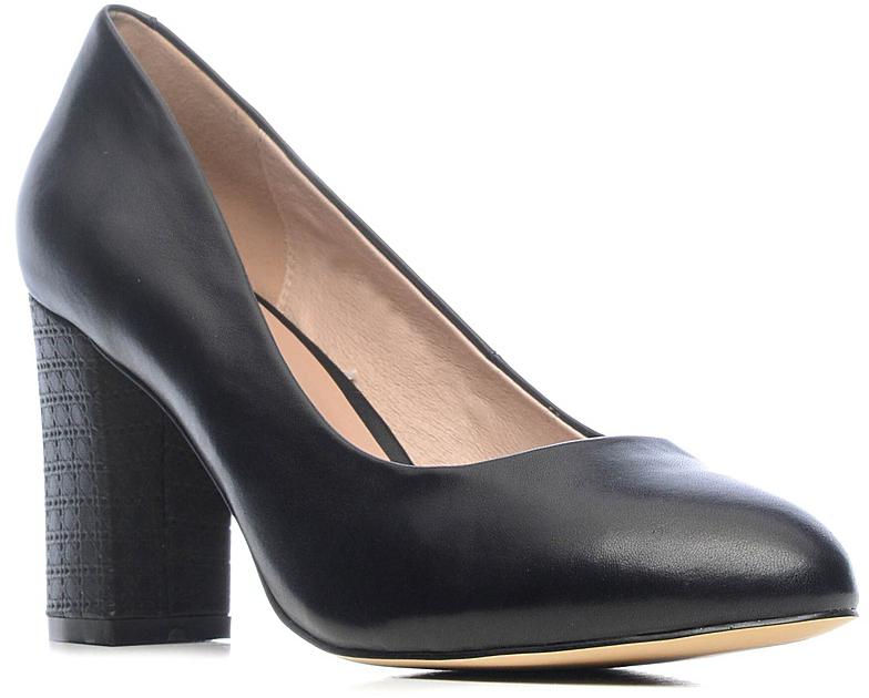 ТуфлиS7E24-01-01Модные женские туфли от Palazzo Doro покорят вас с первого взгляда. Модель с округлым мысом выполнена из натуральной кожи. Стелька из натуральной кожи обеспечивает комфорт при ходьбе. Умеренной высоты толстый каблук обеспечит комфорт при ходьбе. Подошва и каблук дополнены противоскользящим рифлением. Стильные туфли подчеркнут вашу яркую индивидуальность, позволят выделиться среди окружающих.