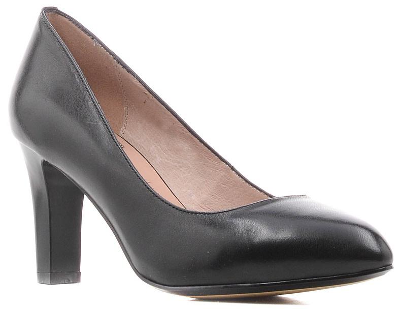 ТуфлиS7E10-01-01Модные женские туфли от Palazzo Doro заинтересуют вас своим дизайном. Модель выполнена из высококачественной натуральной кожи. Зауженный носок смотрится стильно. Подкладка и стелька из натуральной кожи обеспечивают комфорт при движении. Подошва дополнена противоскользящим рифлением. Роскошные туфли помогут вам создать элегантный образ.