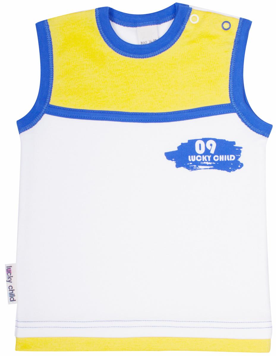 Футболка19-252Майка из коллекции «Летний марафон» соответствует всем строгим российским требованиям качества.