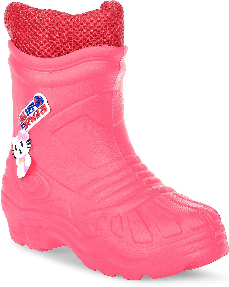 Резиновые сапогиТ-102DДетские резиновые сапоги для девочек от Step Forward - идеальный вариант для дождливой холодной погоды! Модель изготовлена из материала ЭВА. Отсутствие швов гарантирует максимальную прочность и 100% защиту от воды и грязи.