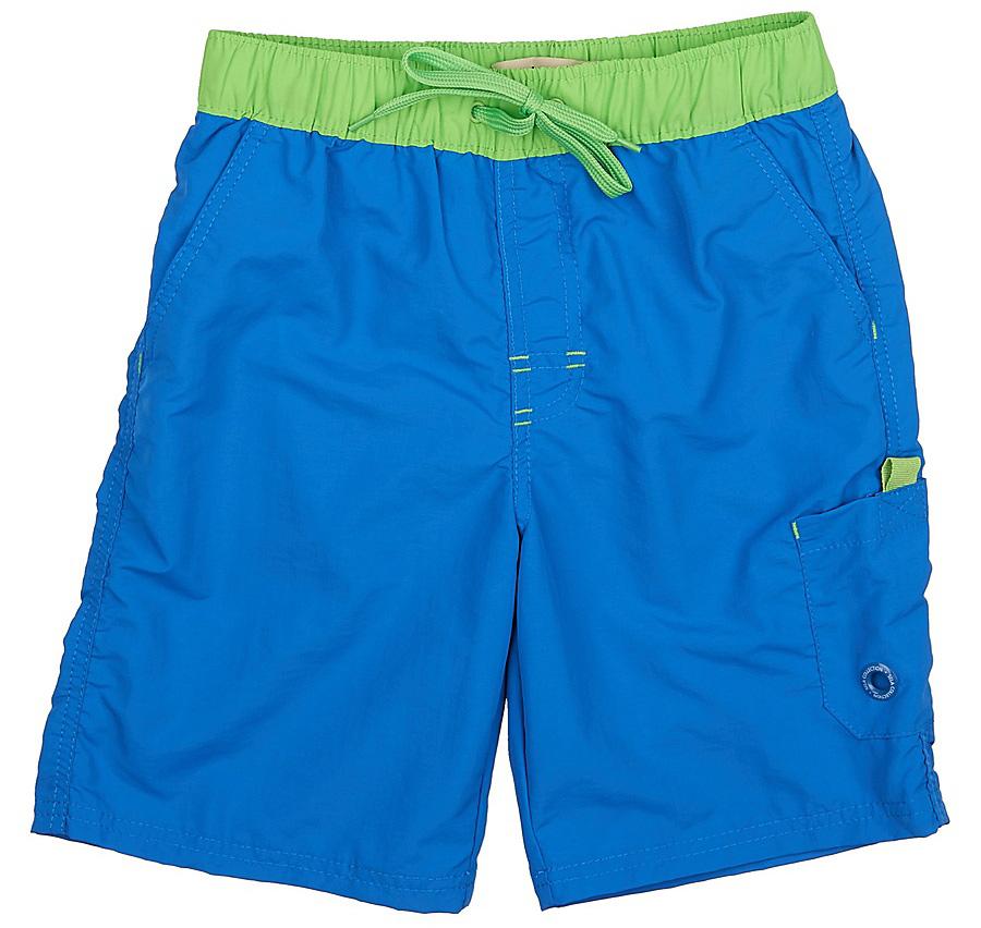 Шорты для плаванияSHsp-815/335-7225Пляжные шорты для мальчика Sela, изготовленные из качественного материала с контрастным поясом, - идеальный вариант, как для купания, так и для отдыха на пляже. Модель с вшитыми сетчатыми трусиками на поясе имеет эластичную резинку, регулируемую шнурком, благодаря чему шорты не сдавливают живот ребенка и не сползают. Изделие дополнено имитацией ширинки, двумя втачными карманами и накладным карманом на липучке. Шорты быстро сохнут и сохраняют первоначальный вид и форму даже при длительном использовании.