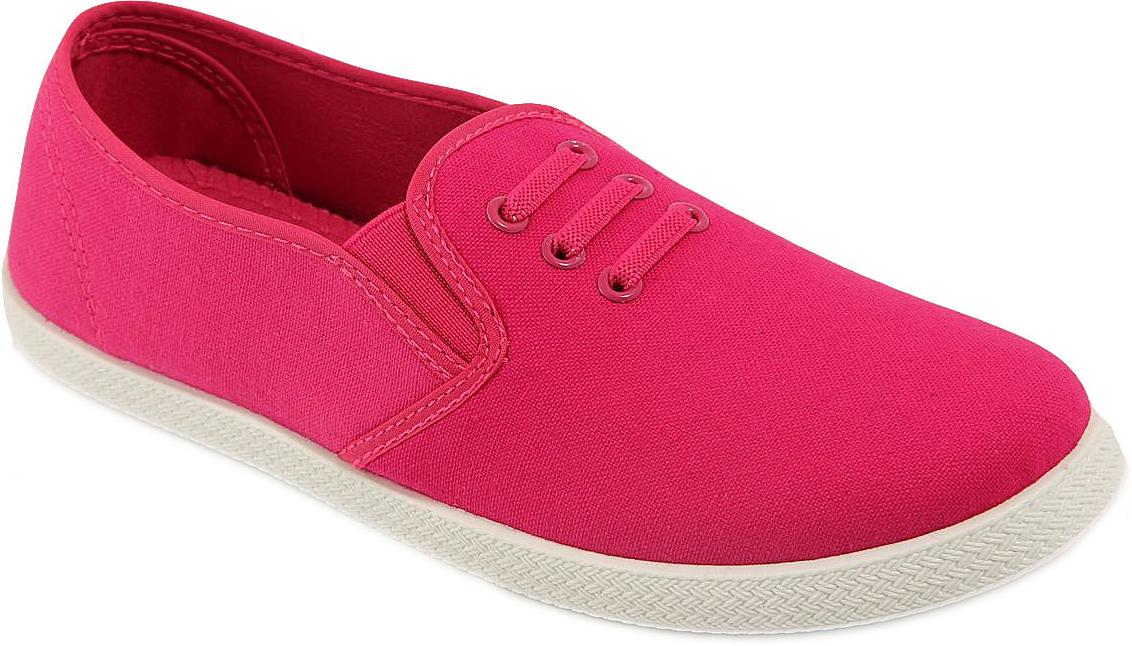 СлипоныTC3-5Стильные женские слипоны от In Step выполнены из высококачественного текстиля. Подошва из резины устойчива к изломам. На подъеме модель дополнена эластичными вставками для удобства надевания, и оформлена декоративными шнурками. Аккуратно смотрятся на ноге, комфортно носятся.