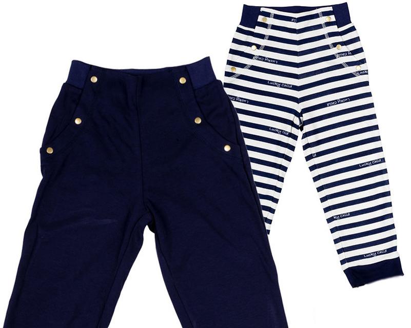 Комплект одежды28-11ДГлубокие цвета штанишек коллекции Лазурный берег хорошо сочетаются с любыми вещами, которые вы подберете.