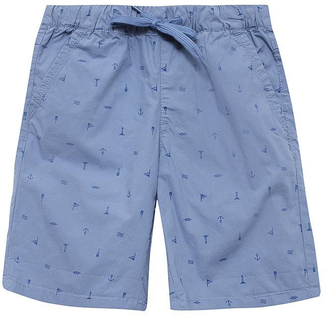 ШортыSH-815/311-7215Стильные шорты для мальчика Sela, изготовленные из натурального хлопка и оформленные принтом в морском стиле, станут отличным дополнением гардероба в летний период. Шорты прямого кроя и стандартной посадки на талии имеют пояс на мягкой резинке, дополнительно регулируемый шнурком. Модель дополнена двумя втачными карманами спереди и двумя накладными карманами сзади.