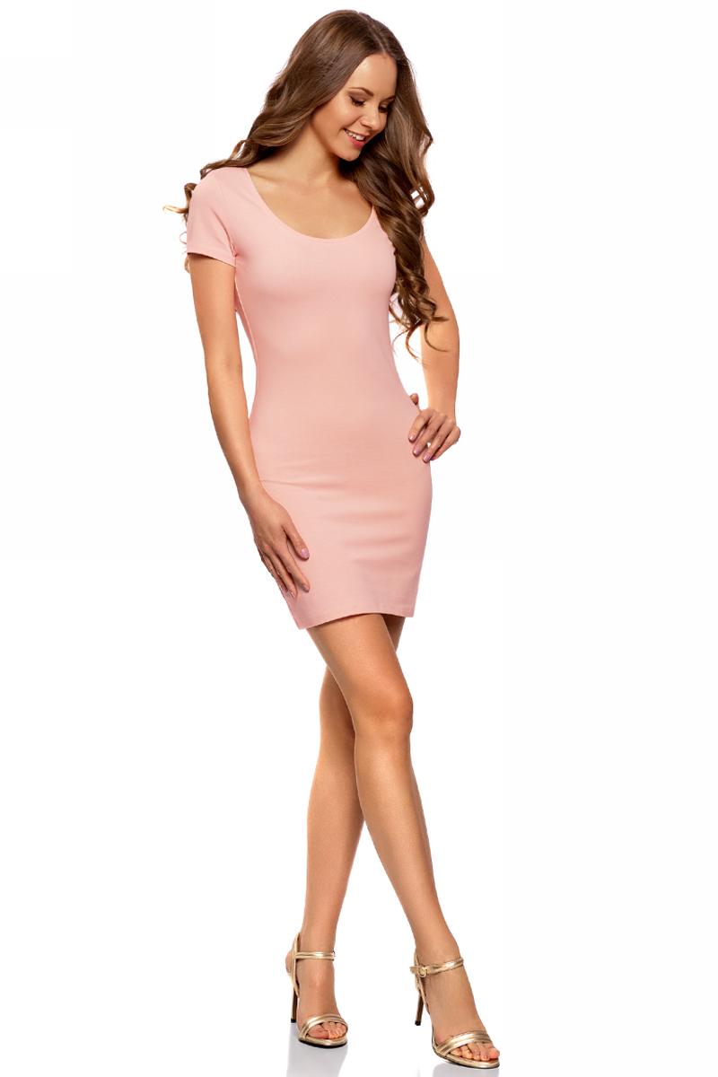 Платье14001182B/47420/5400NПлатье трикотажное облегающего силуэта
