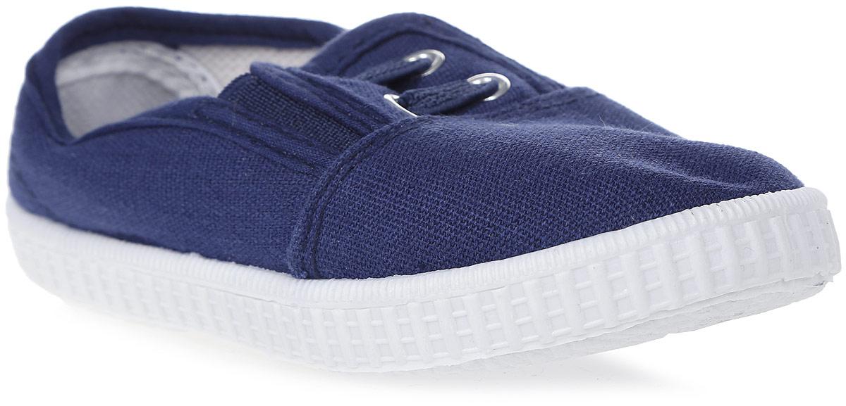Кеды677C-1/7Стильные детские кеды от In Step выполнены из высококачественного текстиля. Подошва из резины устойчива к изломам. На подъеме модель дополнена эластичными вставками для удобства надевания, и оформлена декоративной шнуровкой.
