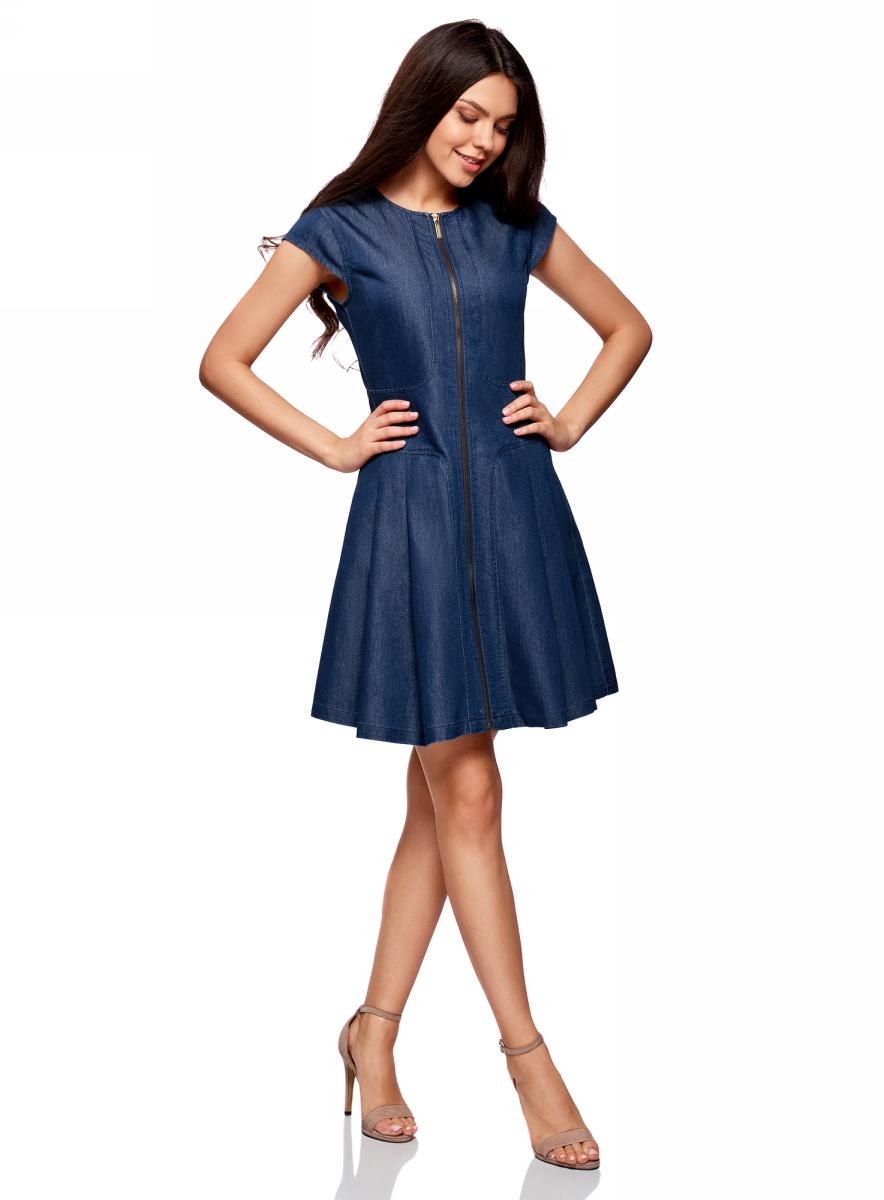 Платье12909050/46684/7500WПлатье джинсовое на молнии