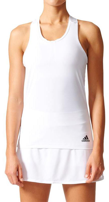 МайкаBJ9573Майка теннисная женская Unctl Clmchtank исполнена из специальной дышащей такни, благодаря чему сохраняет приятное ощущение прохлады даже в самые напряженные моменты тренировки. Эта женская майка отводит излишки тепла, обеспечивает оптимальную вентиляцию и полную свободу движений. Майка имеет широкий круглый ворот и логотип adidas с левого нижнего края.