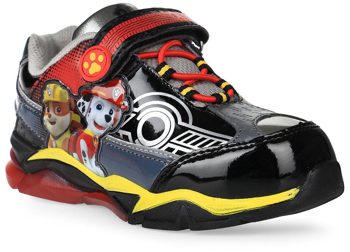 Кроссовки6754AОдна из популярных моделей обуви весенне-летнего сезона - кроссовки для мальчиков со светодиодами. Встроенный одноразовый аккумулятор позволяет наслаждаться красотой подошвы до 500 тысяч включений. Подошва из термопластичной резины понравится любителям долгих прогулок из-за своей легкости и гибкости. Современные технологии и красочный дизайн с персонажами мультфильма Paw Patrol не смогут оставить равнодушными не только детей, но и их родителей. Кроссовки со светодиодами для мальчиков отличаются хлопковой подкладкой и съемной стелькой, что обеспечивает более удобный уход за обувью и комфорт для маленьких ножек.
