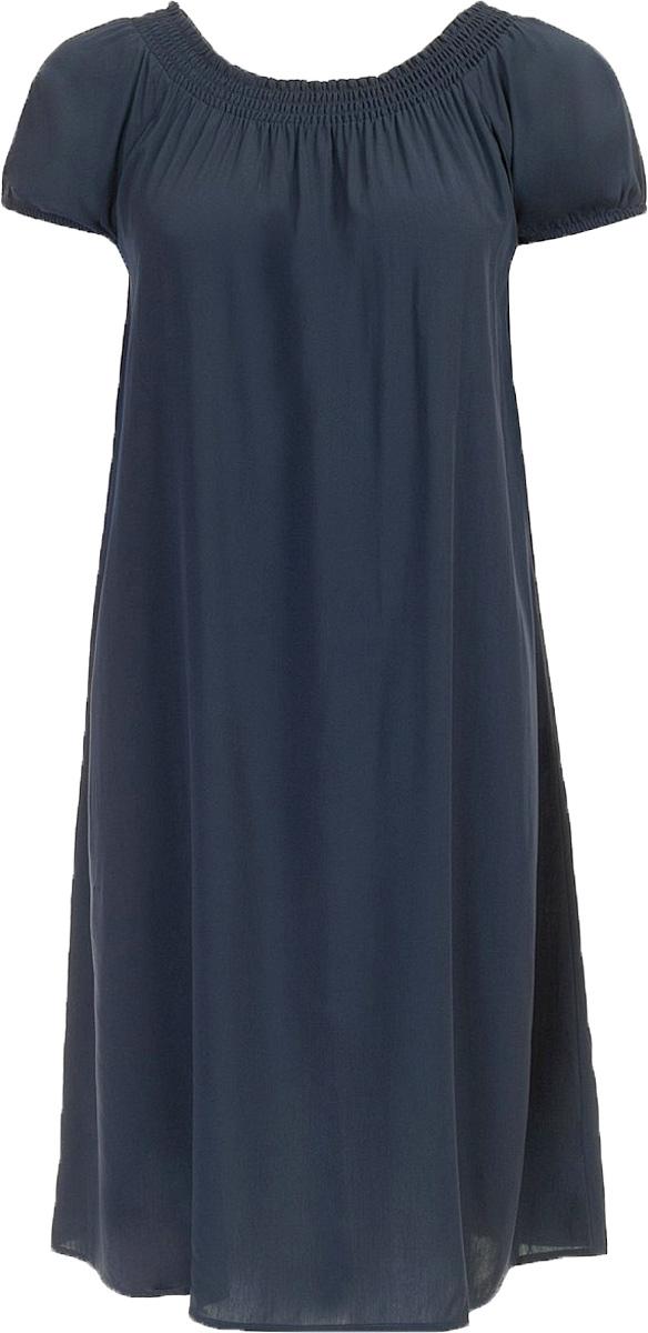 ПлатьеB457054_Dark NavyПлатье Baon выполнено из вискозы. Модель с воротником-лодочкой и короткими рукавами.