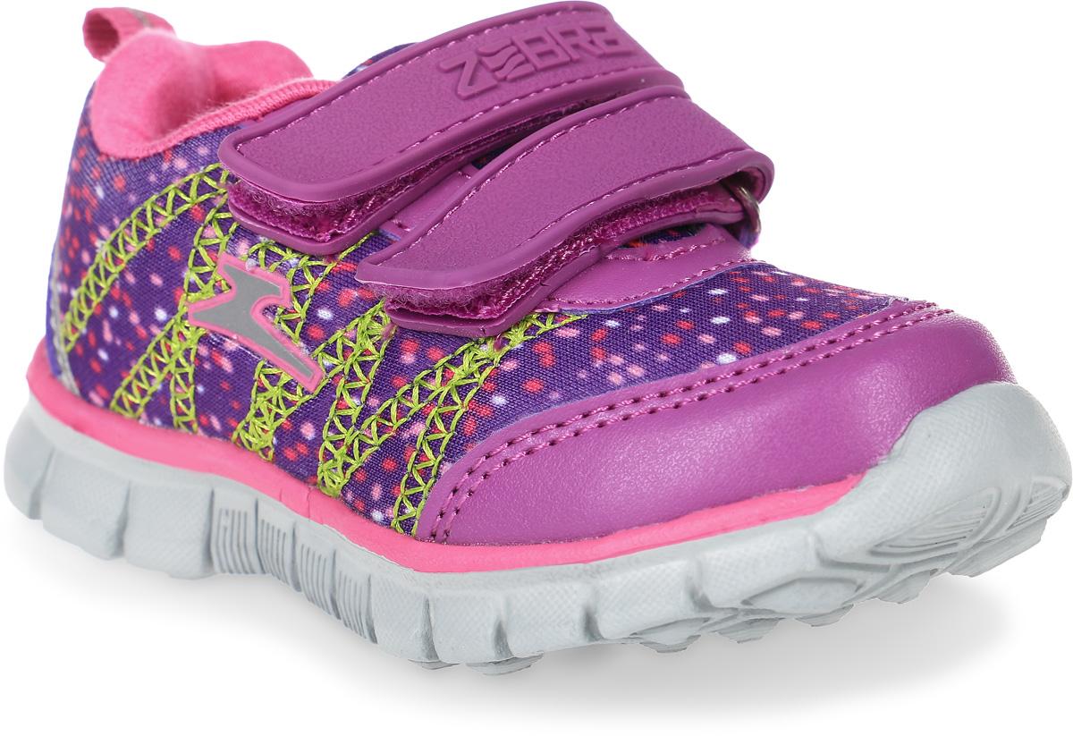 Кроссовки10854-20Кроссовки от Зебра выполнены из дышащего текстиля. Застежки-липучки обеспечивают надежную фиксацию обуви на ноге ребенка. Подкладка выполнена из текстиля, а стелька – из натуральной кожи, что предотвращает натирание и гарантирует уют. Подошва из филона дает превосходную амортизацию и упругость, хорошо поддерживает стопу.