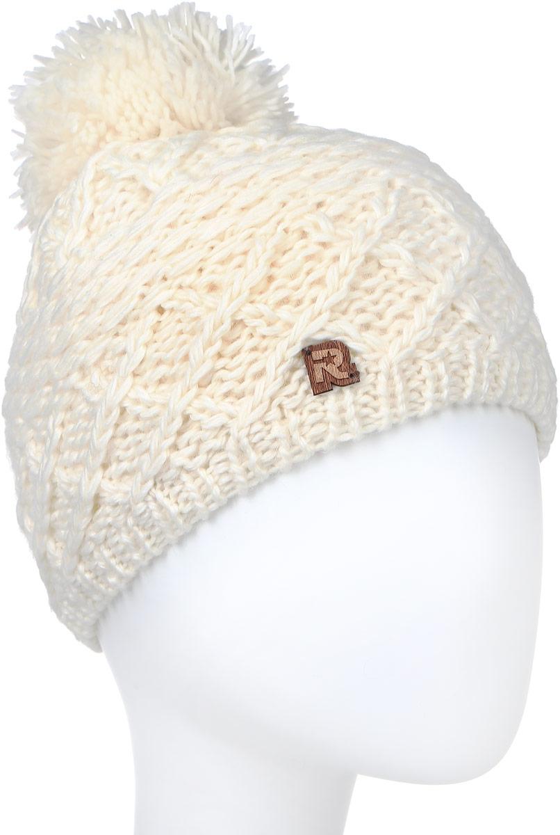 ШапкаICE 8508Теплая вязаная шапка R.Mountain выполнена из акрила и натуральной шерсти. Модель оформлена вязаным узором и нашивкой в виде логотипа бренда. Шапка дополнена крупным помпоном на макушке. Подкладка полностью выполнена из ворсистого плюша, который обеспечит тепло и комфорт.