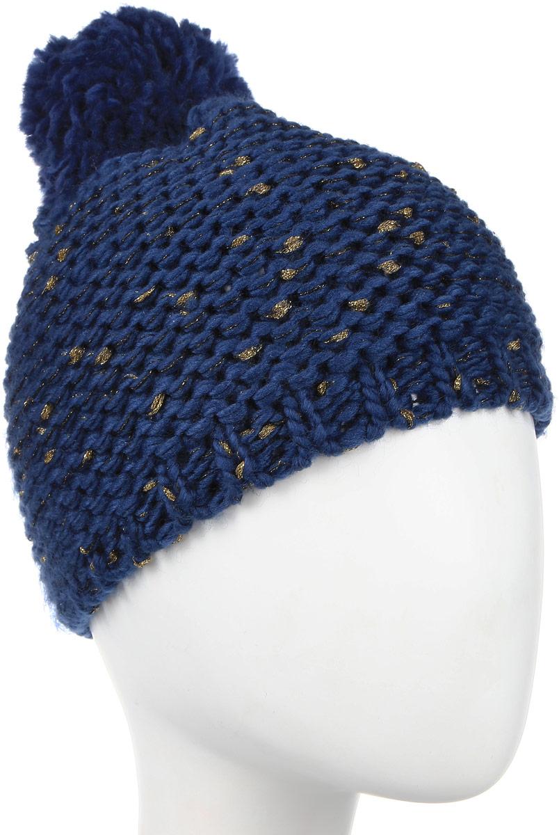 Шапка4-0041-117Стильная однослойная теплая шапка с помпоном из акрила. Меланжевая вязка. Отличный аксессуар защитит в непогоду и подарит ощущение теплоты.