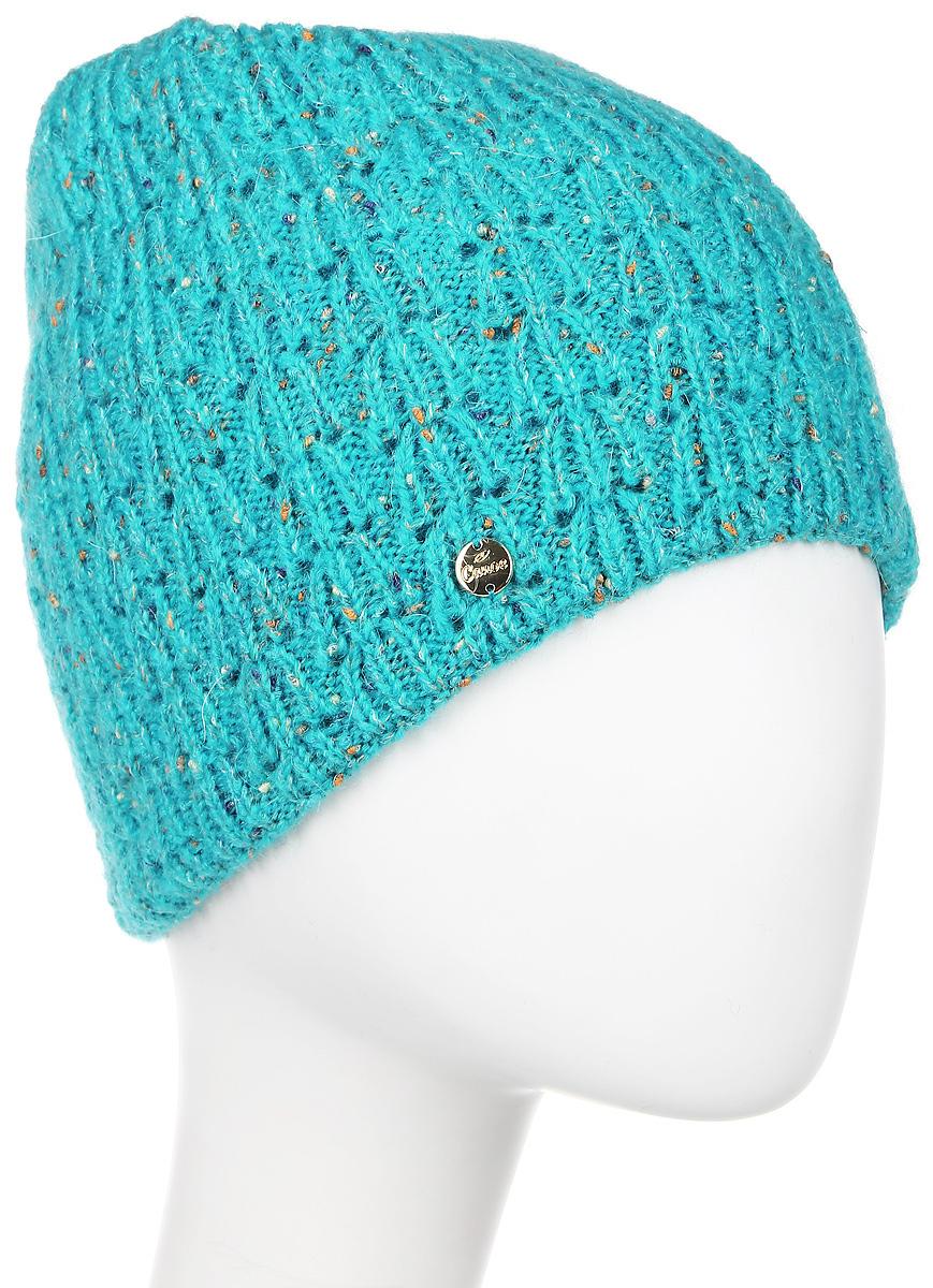 Шапка3449281Тёплая, двухслойная удлинённая шапочка из смеси мохера и полиамида, с вкрученными разноцветными утолщениями из шерсти. Мохер задаёт тепло и комфорт, полиамид - увеличивает износостойкость, не влияя на тактильные ощущения. Вкрапления шерсти очень яркие и жизнерадостные, задающие положительный настрой в противовес унылой, зимней погоде. Идеально комплектуется со снудом Delsol. Носите с удовольствием.
