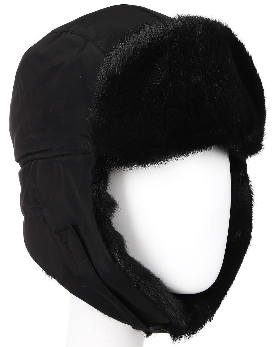 ШапкаЕвро VOSTOK норкаЗимняя шапка с искусственным мехом и ветрозащитной маской. Очень удобная и практичная модель. Верх шапки выполнен из водонепроницаемого материала. Имитация меха норки. Утеплена радотексом и флисом для лучшей теплоизоляции. Маска изготовлена из флиса и предназначена для защиты нижней части лица от холода и ветра. Утяжка на затылке со стоппером. Уши под подбородком и наверху фиксируются с помощью липучки. Конструкция шапки позволяет носить ее в двух вариантах. Шапка легкая, приятная на ощупь и отлично защищает от зимнего холода.