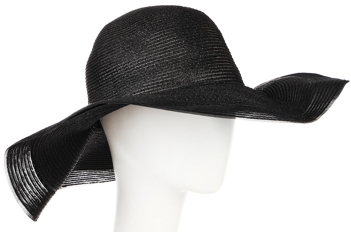 Шляпа9B-1602Летняя женская шляпа Moltini, выполненная из пряжи с добавлением текстиля, станет незаменимым аксессуаром для пляжа и отдыха на природе. Широкие поля шляпы обеспечат надежную защиту от солнечных лучей. Плетение шляпы обеспечивает необходимую вентиляцию и комфорт даже в самый знойный день. Шляпа легко восстанавливает свою форму после сжатия. Уважаемые клиенты! Размер, доступный для заказа, является обхватом головы.