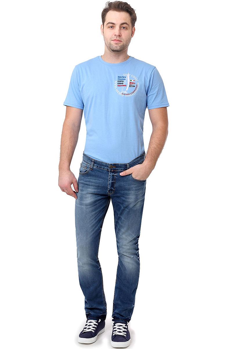 Джинсы14465_09558, Blue denim P-7 str., w.medium