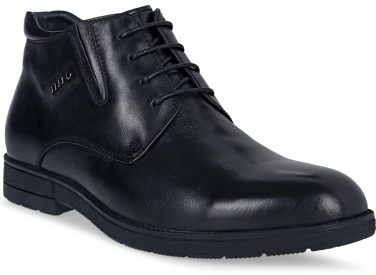 Ботинки16203Z-2-1MСтильные мужские ботинки Renaissance выполнены из натуральной кожи. Удобная шнуровка надежно фиксирует модель. Такие ботинки отлично подойдут для тех, кто хочет подчеркнуть свою индивидуальность. В этой обуви вы будете чувствовать себя комфортно и в офисе, и на молодежной вечеринке.