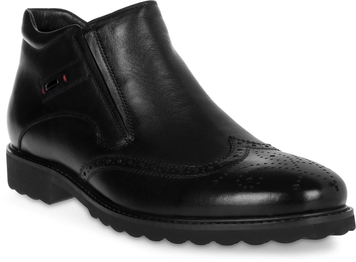 Ботинки16219Z-2-1FСтильные мужские ботинки Renaissance выполнены из натуральной кожи. Такие ботинки отлично подойдут для тех, кто хочет подчеркнуть свою индивидуальность. В этой обуви вы будете чувствовать себя комфортно и в офисе, и на молодежной вечеринке.