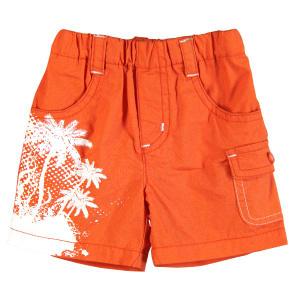 Шорты для мальчиков. 356105 Boboli оранжевый - купить модную одежду известных брендов шорты для мальчиков. 356105 Boboli по лучш