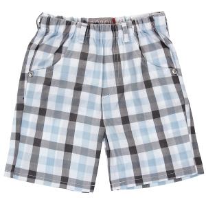 Шорты для мальчика. 316088 Boboli голубой, серый, белый - купить модную одежду известных брендов шорты для мальчика. 316088 Bobo