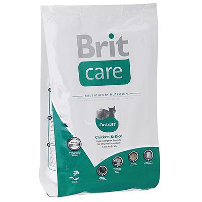 """Корм сухой """"Brit Care"""" для профилактики МКБ у кастрированных котов"""