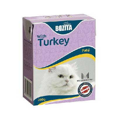 """Консервы для кошек """"Bozita"""", паштет с индейкой"""