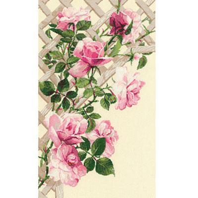 Набор для вышивания крестом Розовые розы