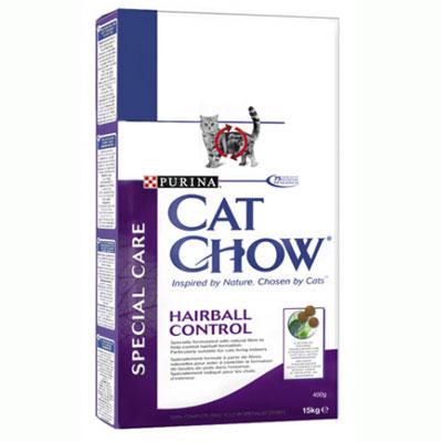 """Корм сухой Cat Chow """"Hairball Control"""" для кошек, контроль образования комков шерсти в желудке"""