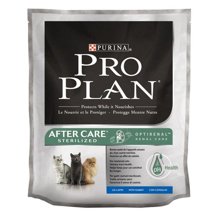 """Корм сухой Pro Plan """"After Care sterilized"""" для кастрированных котов и стерилизованных кошек, с курицей и кроликом"""