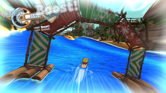 Игра Спанч Боб - Sponge Bob surf skate roadtrip 2011 скачать и заказать